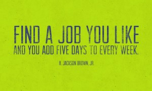 find a job you like