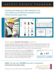 award concepts safety points program