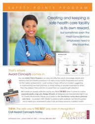 award concepts healthcare safety program