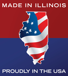Made in Illinois Proudly in the USA