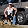 Carl - My dog Bailey and my old Jeep