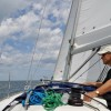 Don - Sailing Lake Michigan on Dufour 325