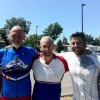 Don - RAGBRAI with my son Carl and best friend Greg