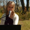 Kayla - Performing at another wedding